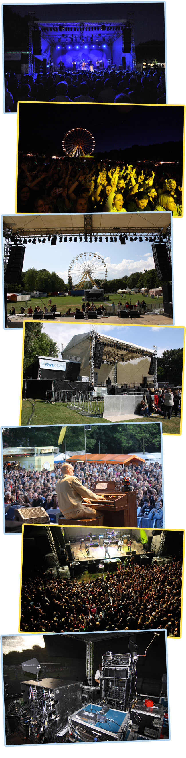 Parkfest: Open Air Bühne